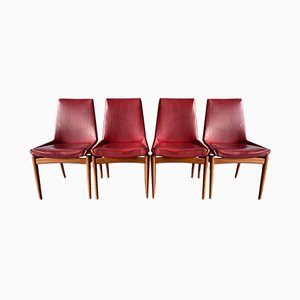 Mid-Century British Dining Chairs by Robert Heritage for Archie Shine, Set of 4