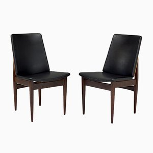 Dining Chairs from Elliots of Newbury, 1960s, Set of 4
