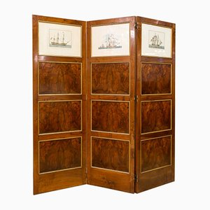 Spanish Walnut Room Divider, 1950s