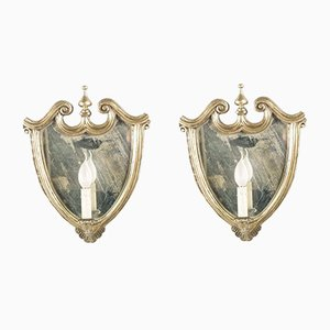 Baroque Electrified Mirrors, Set of 2