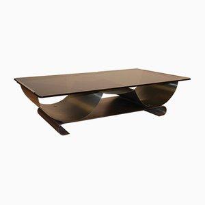 Table Basse Vintage par François Monnet pour Kappa, 1970s