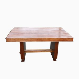 Indian Rosewood Dining Table from Jules Leleu, 1940s
