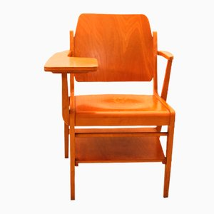 Vintage Austrian Desk Chair by Franz Schuster for Wiesner-Hager, 1950s
