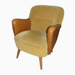 Leatherette Club Chair, 1960s