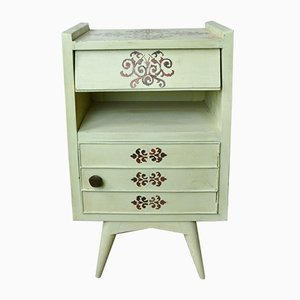 Painted Nightstand, 1950s
