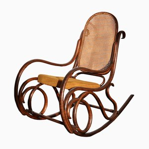 Rocking Chair by Jacob & Josef Kohn, 1920s