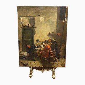 Revolution of 1848, Oil on Board