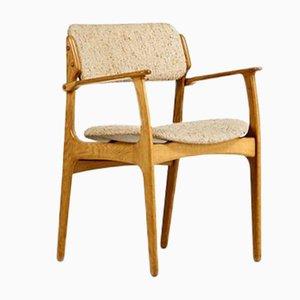Model 49 Armchair by Erik Buch for Oddense Maskinsnedkeri, 1960s