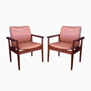 Model 209 Chairs by Finn Juhl for Cado, 1960s, Set of 6