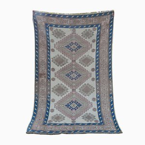 Türkischer Vintage Kars Teppich mit Wollbezug, 1970er