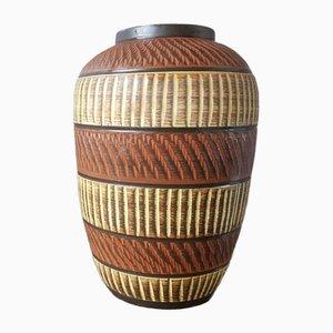 Vaso brutalista di Alfred Krupp per Klinker Keramik, anni '60