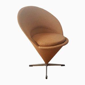 Mid-Century Cone Stuhl von Verner Panton für Fritz Hansen