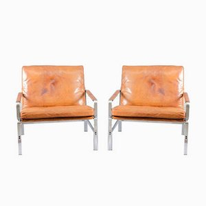 Armchairs by Preben Fabricius & Jørgen Kastholm for Kill International, 1960s, Set of 2