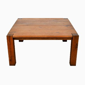 Tavolo da pranzo quadrato in quercia di Mainzer Philipp per e15