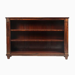English Regency Rosewood Bookshelf, Circa 1810