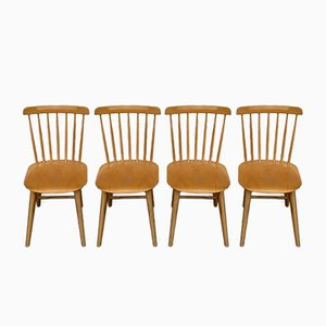 Vintage Ironica Dining Chairs from TON, Set of 4