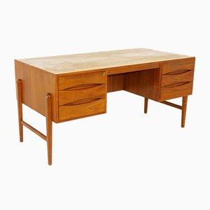 Danish Teak Desk by Christian Møller, 1960s