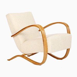 Art Deco Model H 269 Lounge Chair by Jindřich Halabala for UP Závody, 1930s