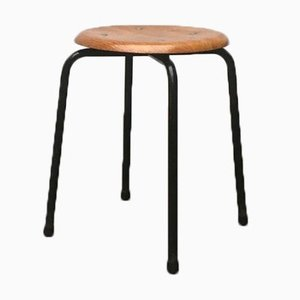 Danish Mid-Century Stool from MH Stalmöbler