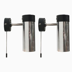 Mid-Century Space Age Wall Lamps, Set of 2