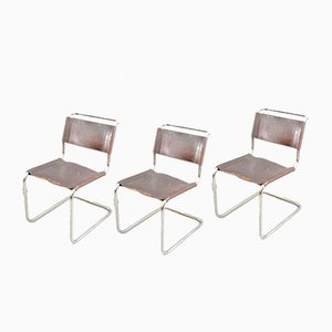 Vintage S33 Chairs by Mart Stam & Marcel Breuer for Thonet, Set of 3