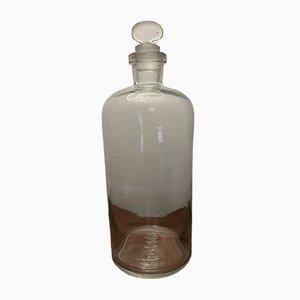 Transparent Pharmacy Bottle, 1950s