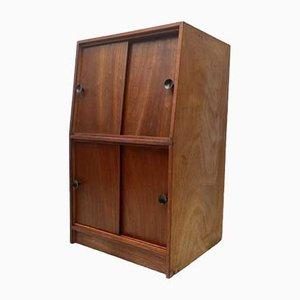 Vintage Vinyl Record Cabinet