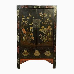 Chinese Wooden Lacquered Cabinet
