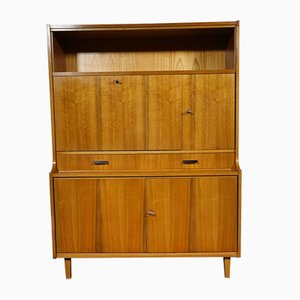 Walnut Dresser with Secretaire, 1960s