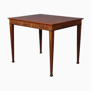 Side Table in Cuba Mahogany by Frits Henningsen