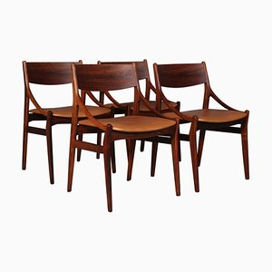 Dining Chairs by Vestervig Eriksen, Set of 4