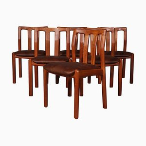 Teak Dining Chairs from Dyrlund, Set of 6