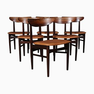 Rosewood Chairs from Skovby Møbler, Set of 6