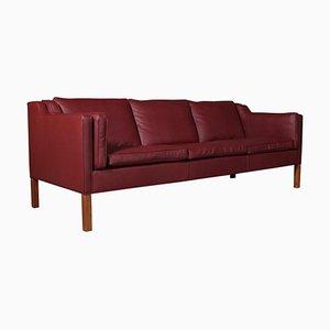 Sofá de tres plazas Børge Mogensen, modelo 2213