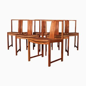 Dining Chairs by Steen Eiler Rasmussen, Set of 6
