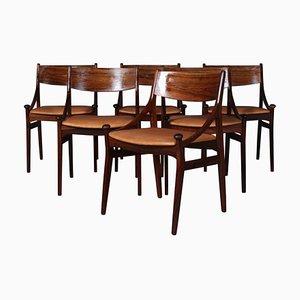 Dining Chairs by Vestervig Eriksen for Brdr, Set of 6