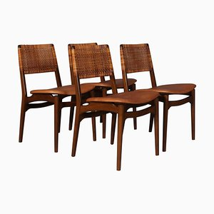 Dining Chairs by E. Knudset, Set of 4