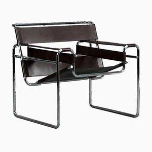 Bauhaus Wassily Modell B3 Stuhl von Gavina