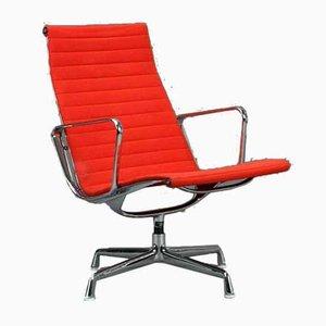 Chaise Vitra Ea 116 en Aluminium par Charles & Ray Eames