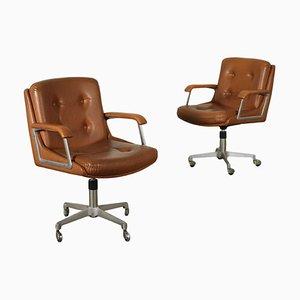 Swivel Chairs Set, 1960s