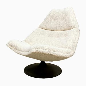 Vintage Dutch Model F511 Swivel Chair by Geoffrey Harcourt for Artifort
