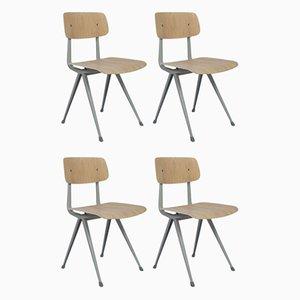 Result Stühle von Friso Kramer & Wim Rietveld für Ahrend, 4er Set