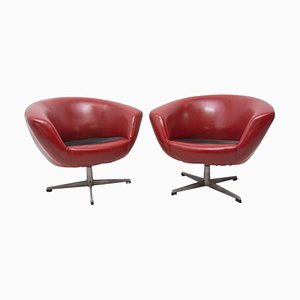 Mid-Century Swivel Chairs from Up Zavody, 1970s, Set of 2