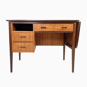 Compact Danish Drop Leaf Desk