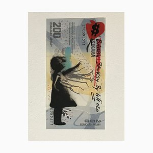 Christophe Stouvenel, Banky-Banksy-by KIKI in Grey, 2020