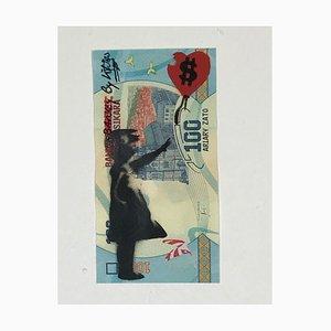 Christophe Stouvenel, Banky-Banksy-by KIKI in Blue, 2020