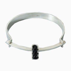 Silber und Onyx Armband von Elis Kauppi