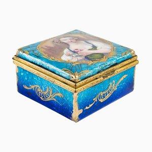 Small Art Nouveau Jewelry Box