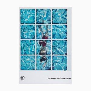 David Hockney, La Olympics Poster, 1984