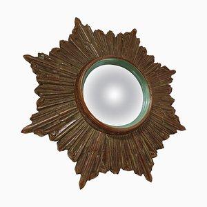 Specchio Mid-Century a forma di sole, anni '60